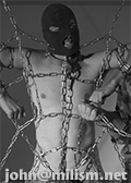 steel chain or rope bondage